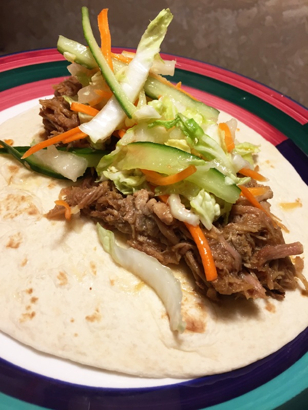Pulled Pork Tacos Goes Vietnamese. It's Easy and Delicious * Strong Coffee to Red Wine
