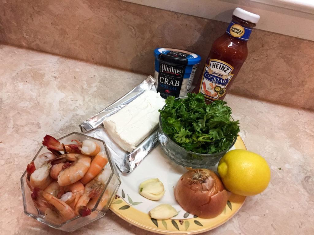 Crab and Shrimp ball