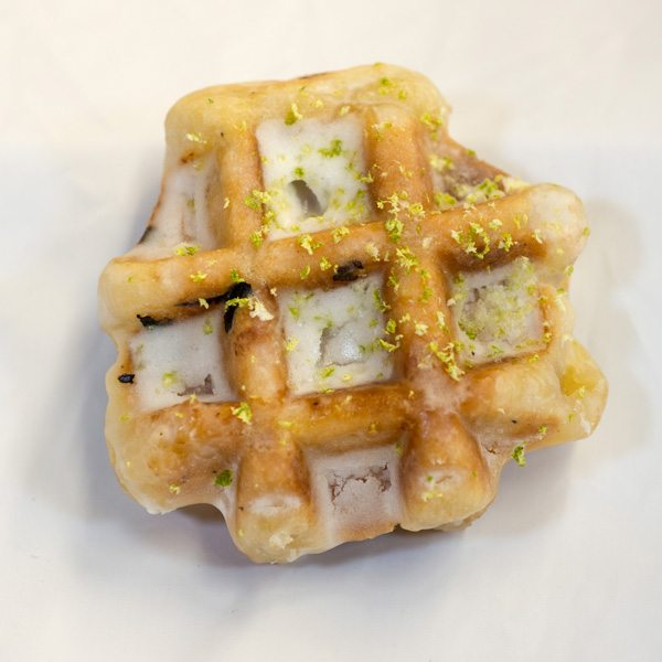 lemon lime waffle