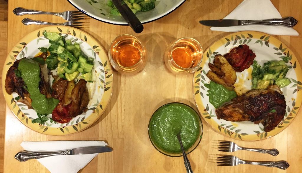 peruvian-style chicken