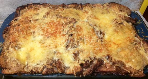 dinner for six - French Onion Panade