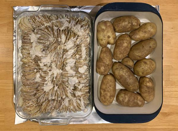 Potato Gratin with Cheese ala Hasselbacken