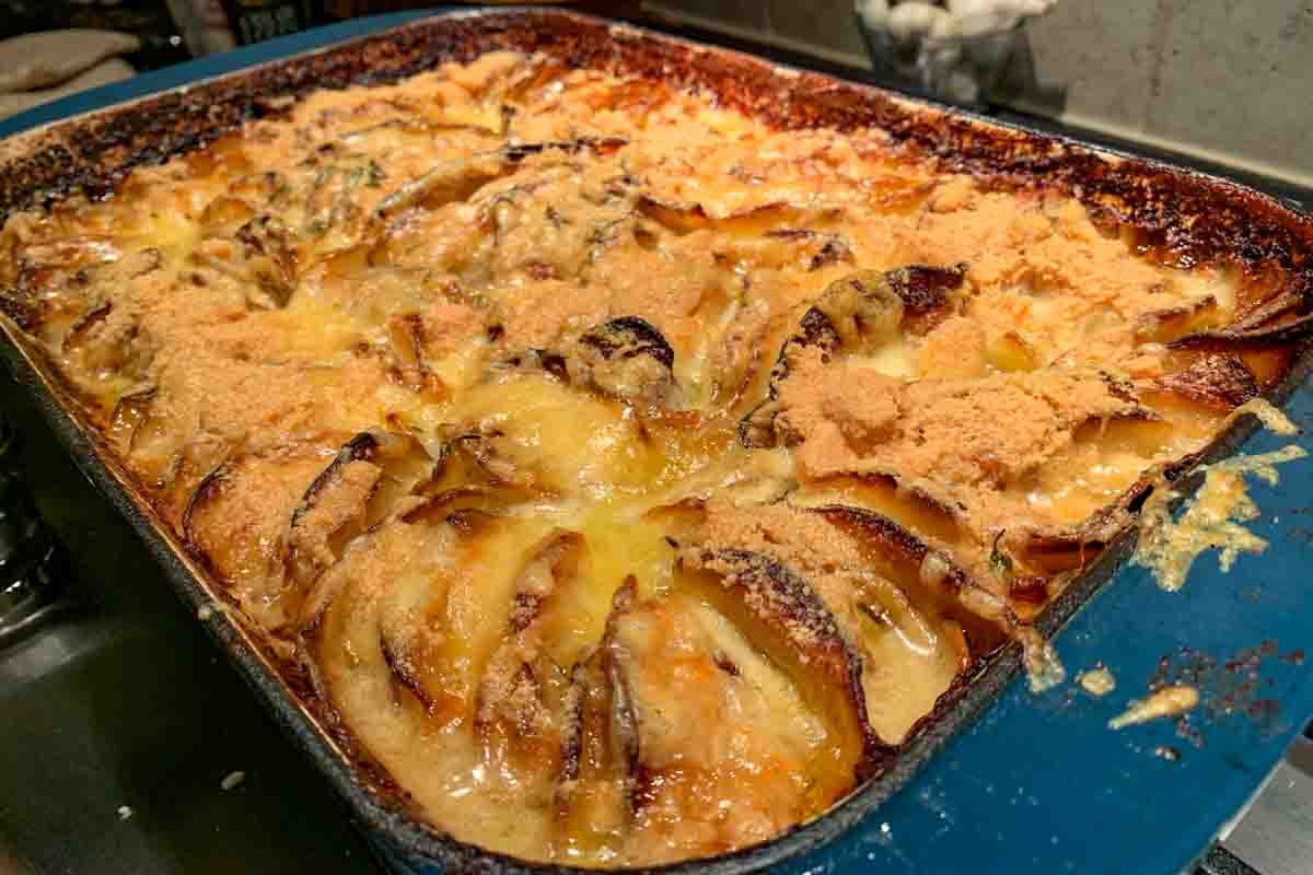 Potato Gratin with Cheese ala Hasselbacken