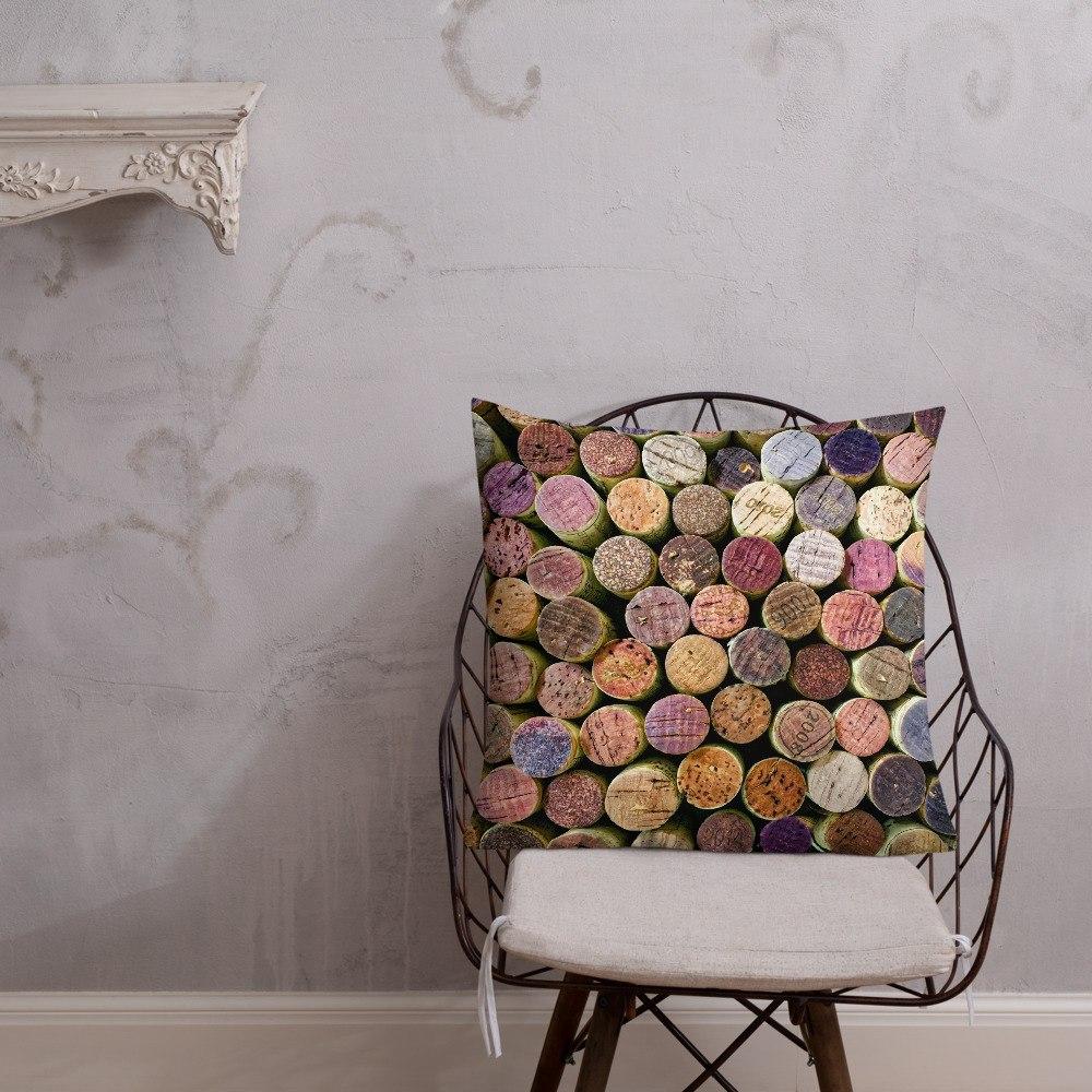 Corked 1 Decorative Throw Pillow 22x22