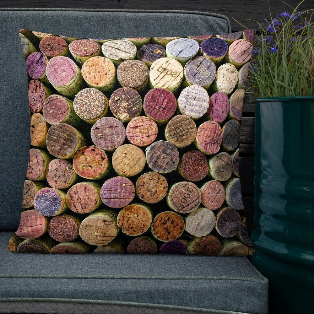 Corked 1 Decorative Throw Pillow 22x22