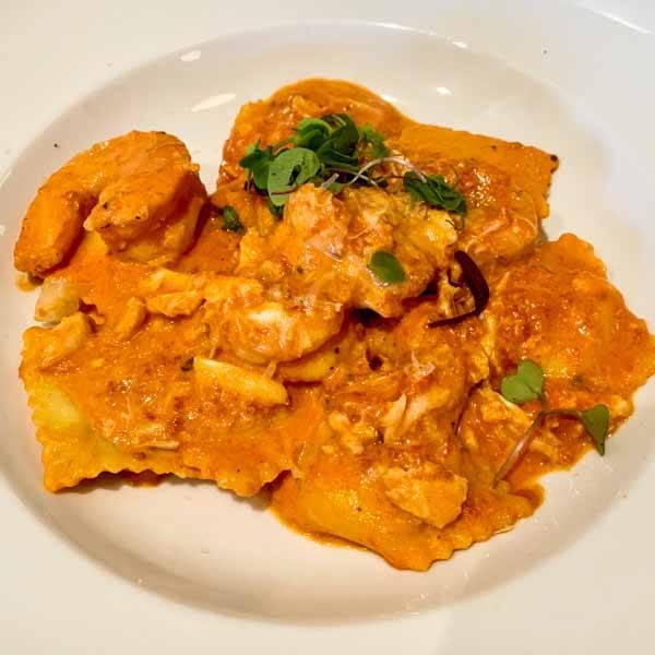 seafood Ravioli - Savi Cucina