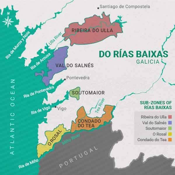 white wine Albariño